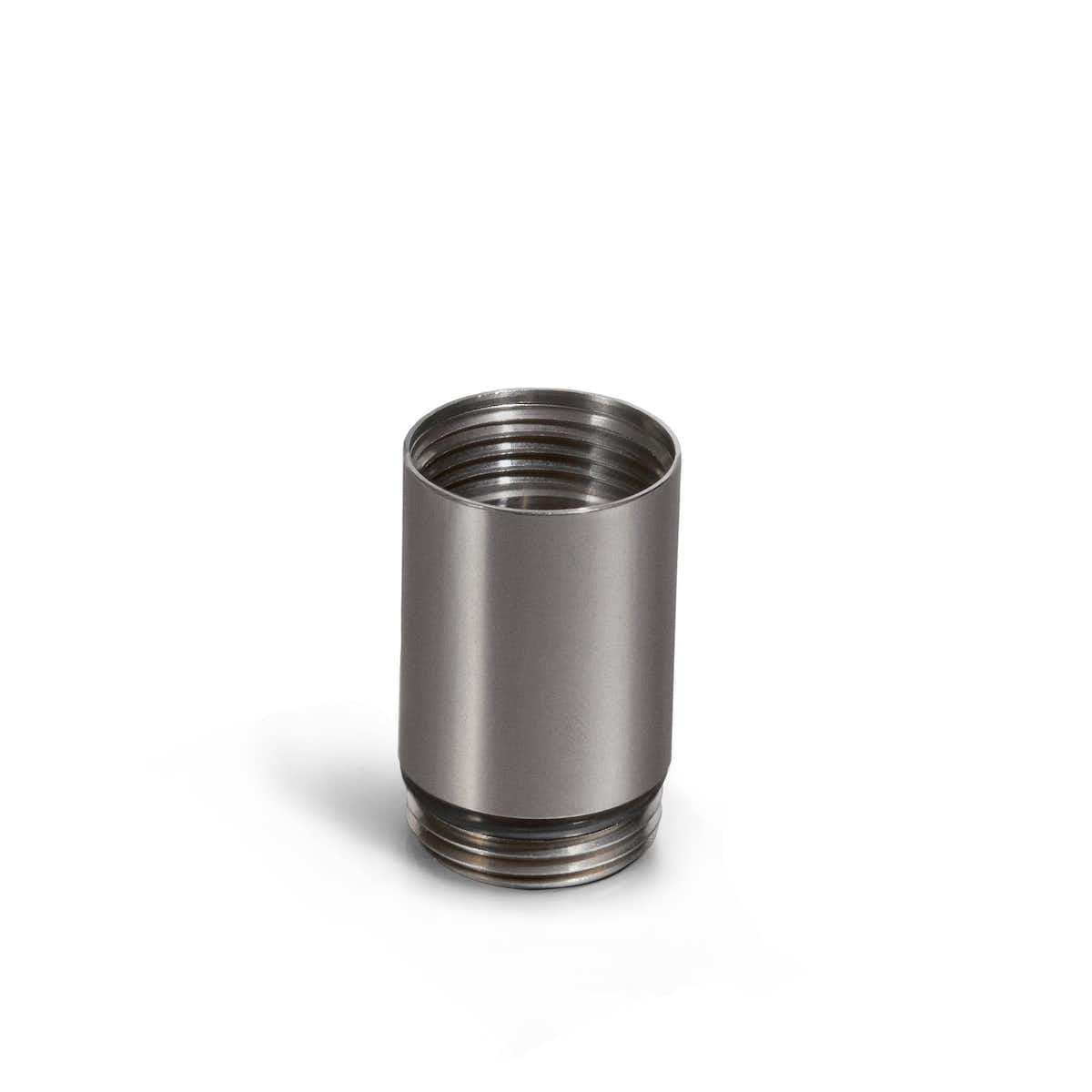 Slim Additional Chamber Pill Holder in Stainless Steel